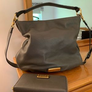 Marc Jacobs bag + wallet (matching)